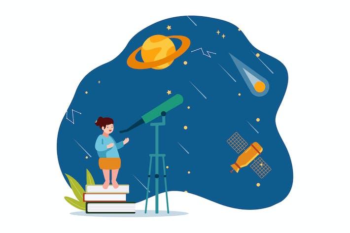 Thumbnail for Weltraum-Bildung