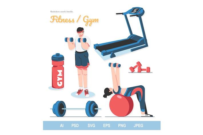 Fitness - Illustrations