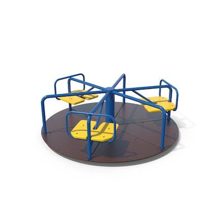 Spielplatz Karussell