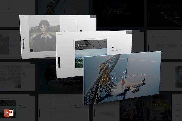 Thumbnail for Moderne PowerPoint Vorlage