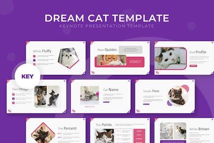 Dream Cat - Keynote Template