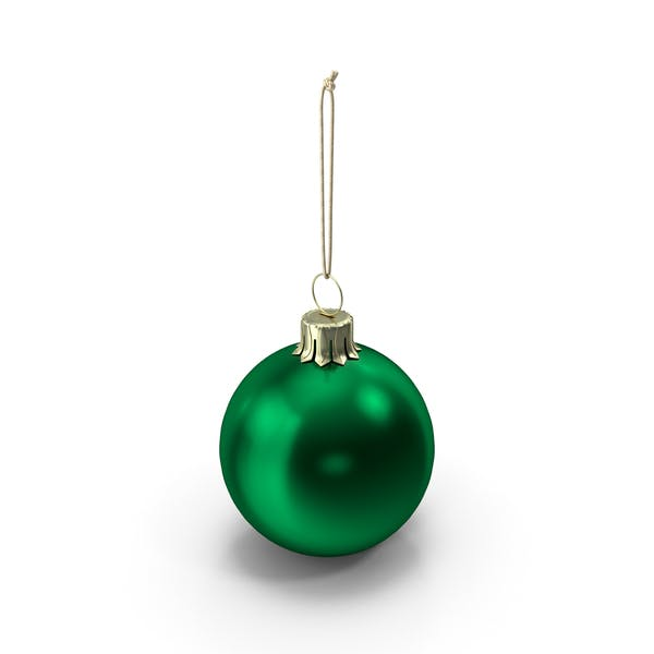Christmas Ball Green