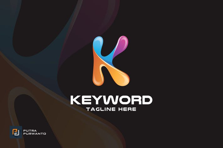 Thumbnail for Keyword / Letter K - Logo Template