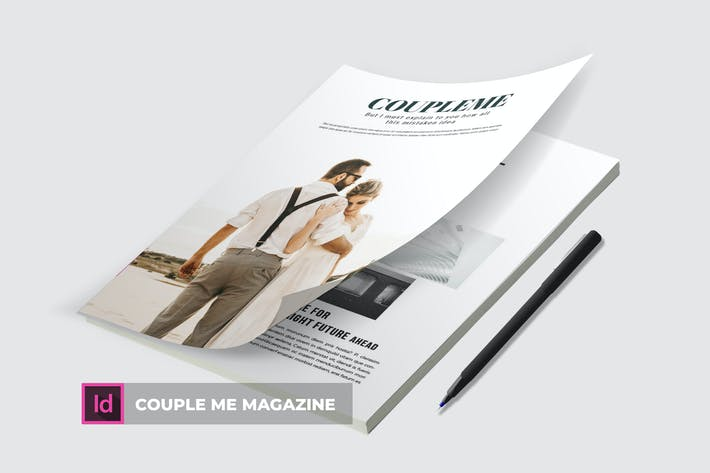 Thumbnail for Couple Me | Magazine Template