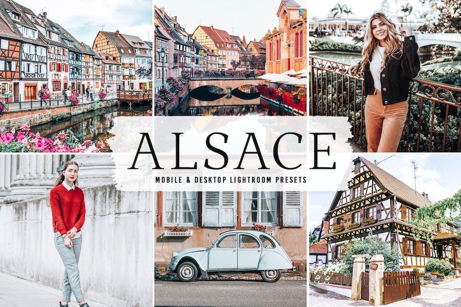 Alsace Mobile & Desktop Lightroom Presets