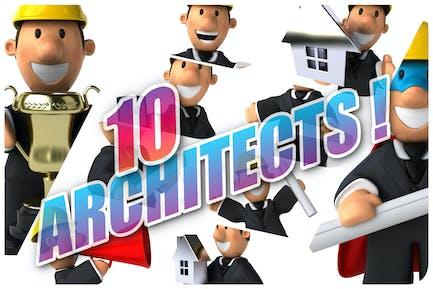10 fun Architects !