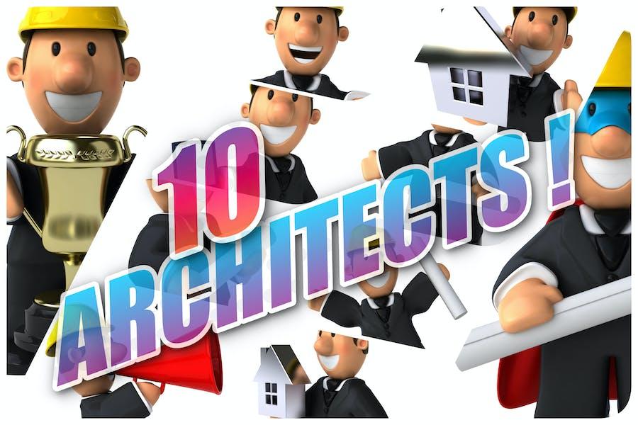 10 lustige Architekten!