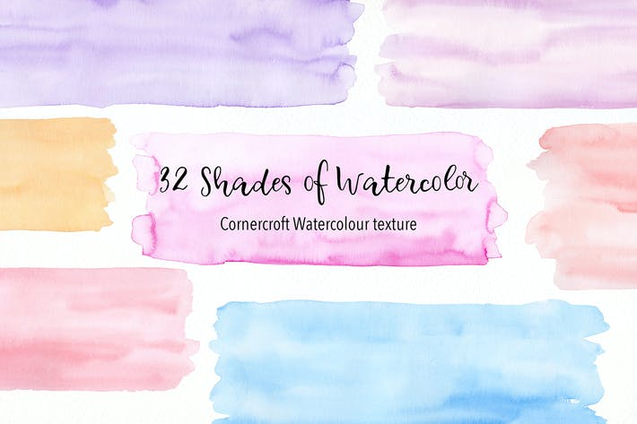 Thumbnail for 32 shades of watercolor texture