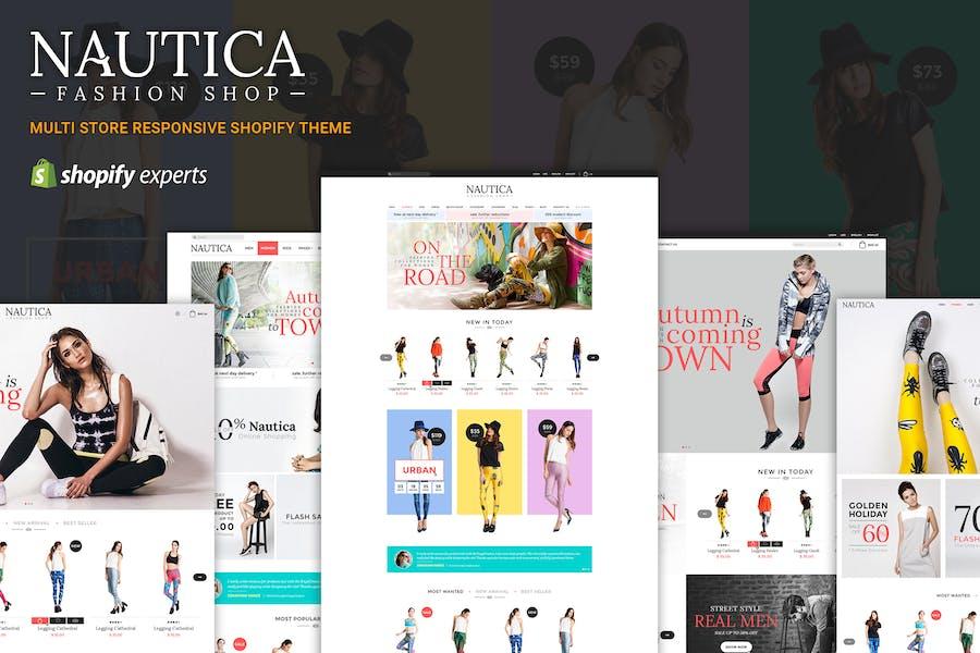 Nautica | Multi Store Responsive Shopify Theme