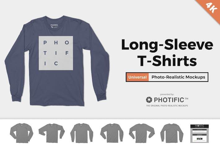 Thumbnail for LangarmT-Shirt-Mockups
