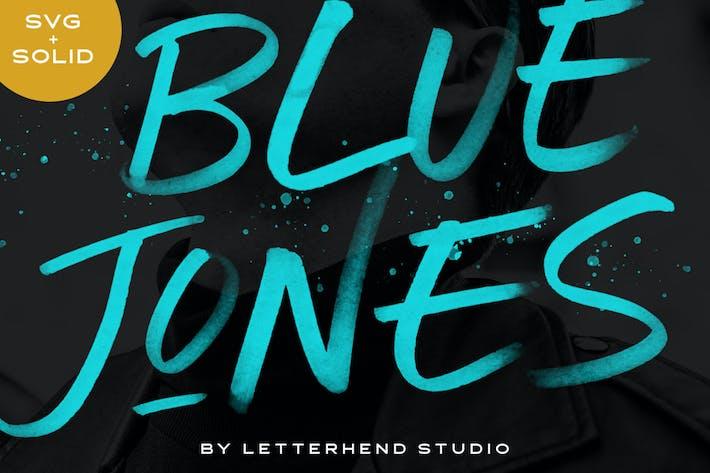 Blue Jones - SVG Font