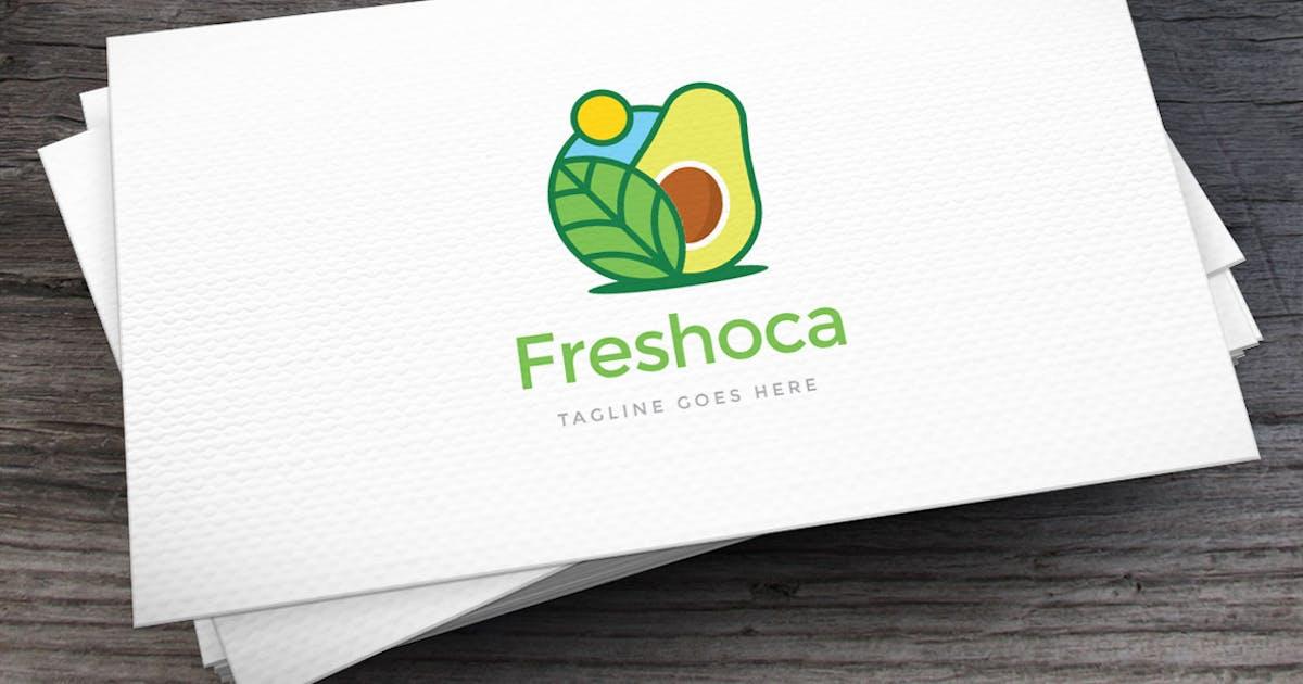Download Freshoca Avocado Logo Template by empativo