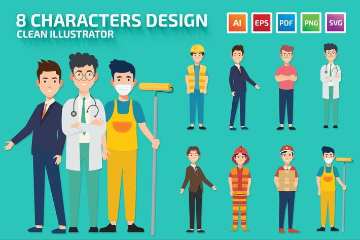 8 Characters