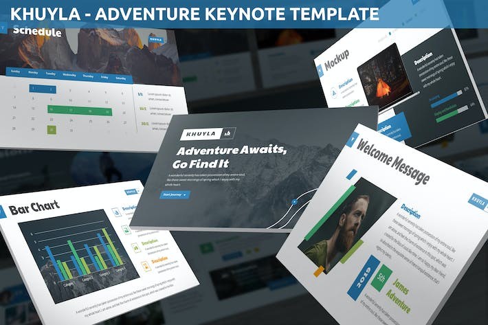 Thumbnail for Khuyla - Adventure Keynote Template