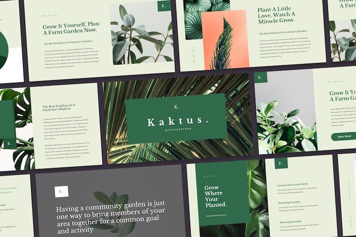 Thumbnail for Kaktus - Elegant Google Slides