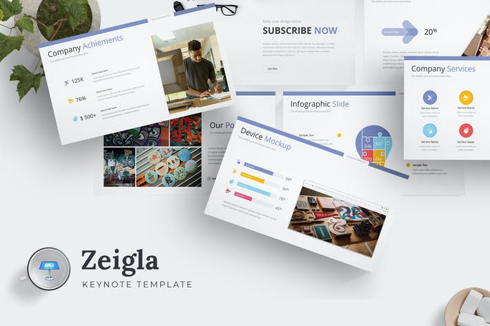 Thumbnail for Zeigla - Keynote Template
