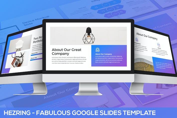 Thumbnail for Hezring - Fabulous Google Slides Template