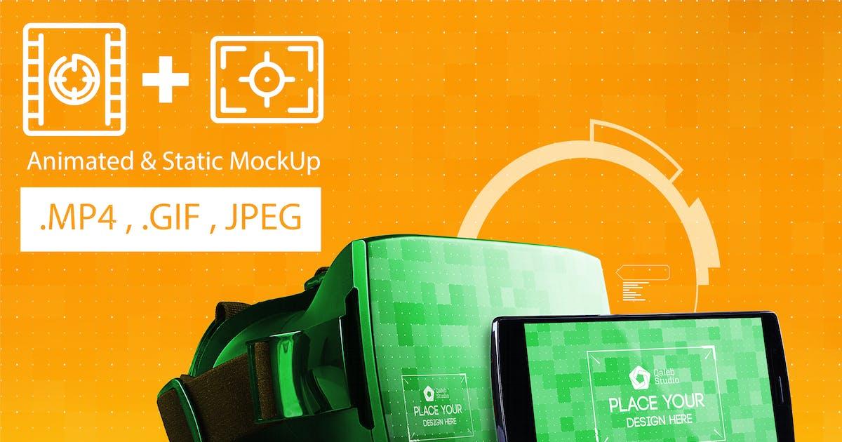 Download Animated VR MockUp by QalebStudio