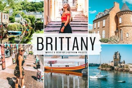 Brittany Mobile & Desktop Lightroom Presets