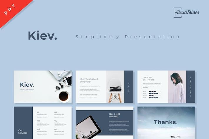 Thumbnail for Kiev - Powerpoint Presentation Template