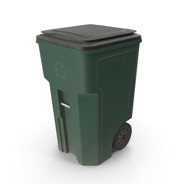 Пластиковая мусорная корзина