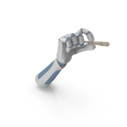 RoboHand Holding ein Joint