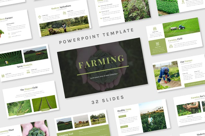 Thumbnail for Farming - Powerpoint Template