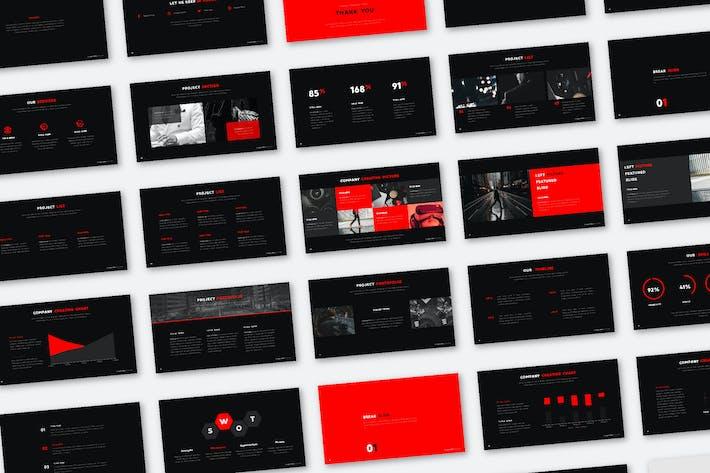 Красная презентация