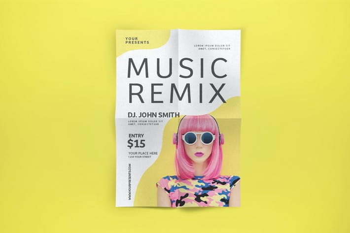 Thumbnail for Music Remix Flyer