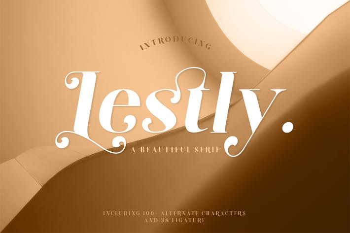 Thumbnail for Lestly Fonts