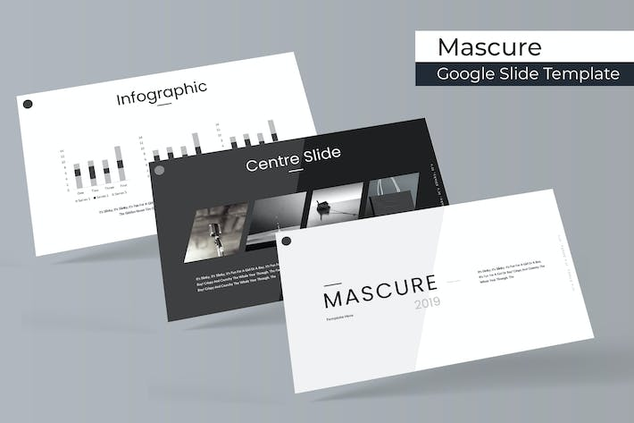 Thumbnail for Mascure - Google Slide Template