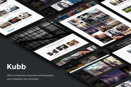 Kubb - Photography & Magazine Site Template