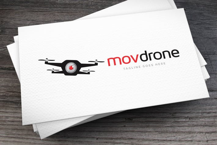 Thumbnail for Movdrone Logo Template