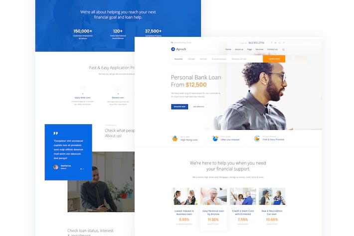 Aproach bank loan business psd template by creativegigs on cover image for aproach bank loan business psd template accmission Gallery