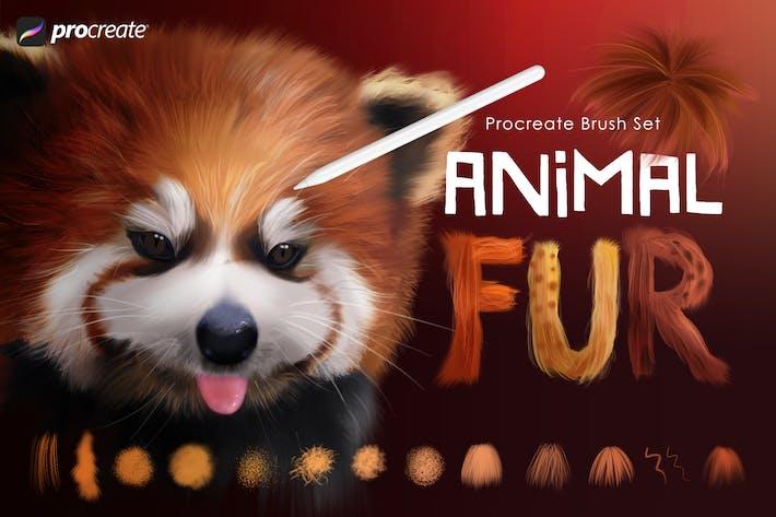 Thumbnail for Кисти для просоздания меха животных