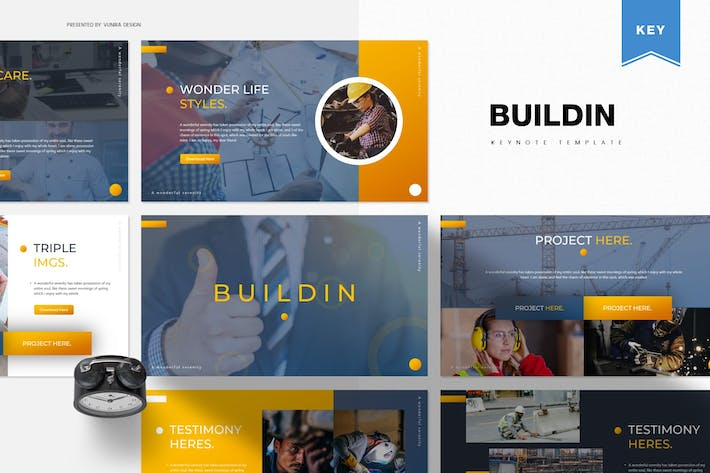 Thumbnail for Buildin | Keynote Template
