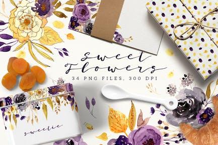 Süße Blumen