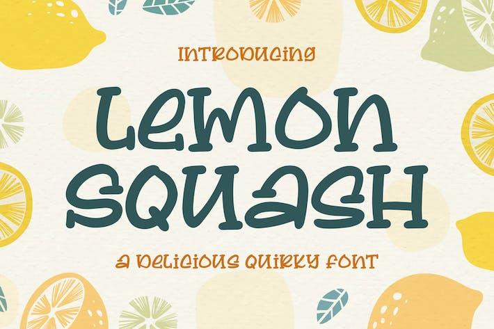 Thumbnail for Limón Squash - una deliciosa fuente Qirky