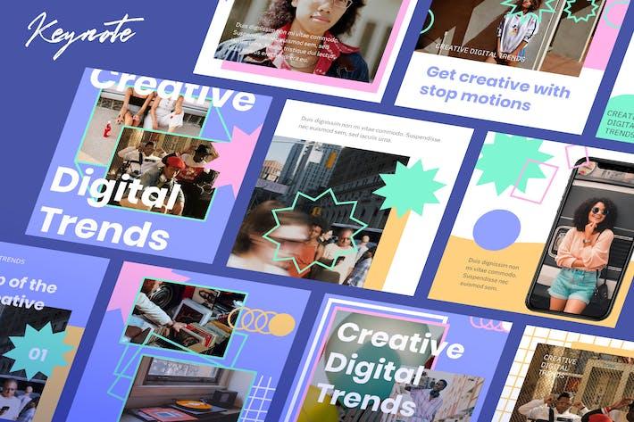 Thumbnail for Творческий цифровой маркетинг 2021 Instagram Keynote
