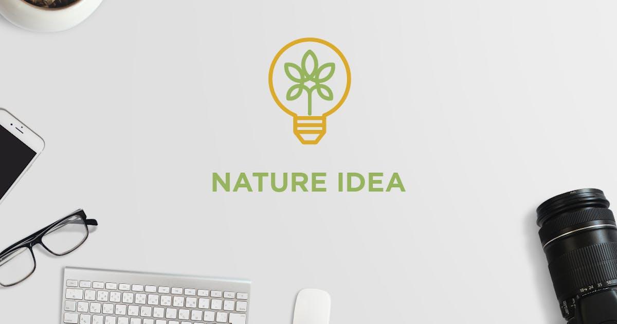 Nature Idea Logo by Suhandi