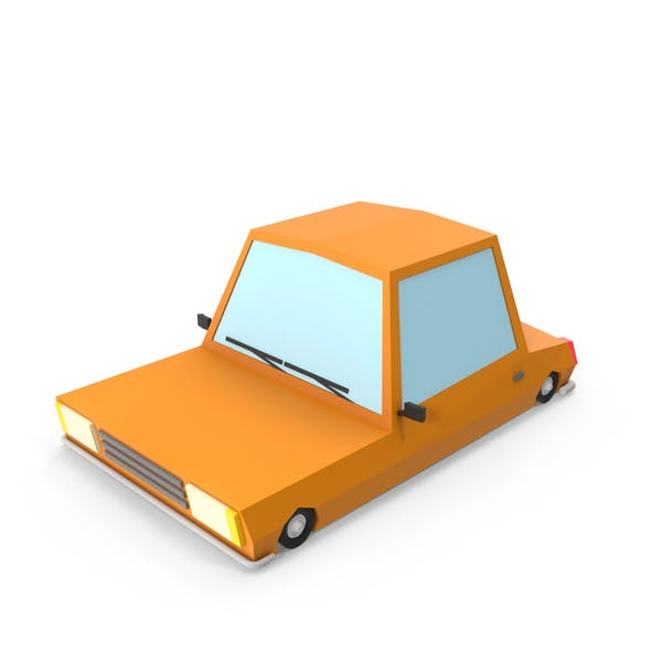 Thumbnail for Orange Cartoon Car