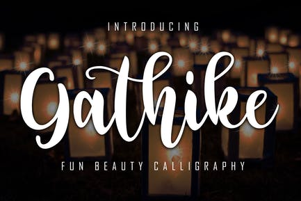 Gathike Fun Beauty Caligrafía