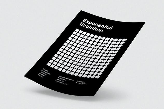 Exponential Evolution Flyer