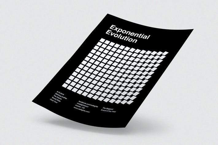 Thumbnail for Exponential Evolution Flyer