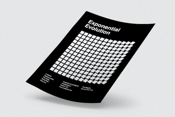 Cover Image For Exponential Evolution Flyer