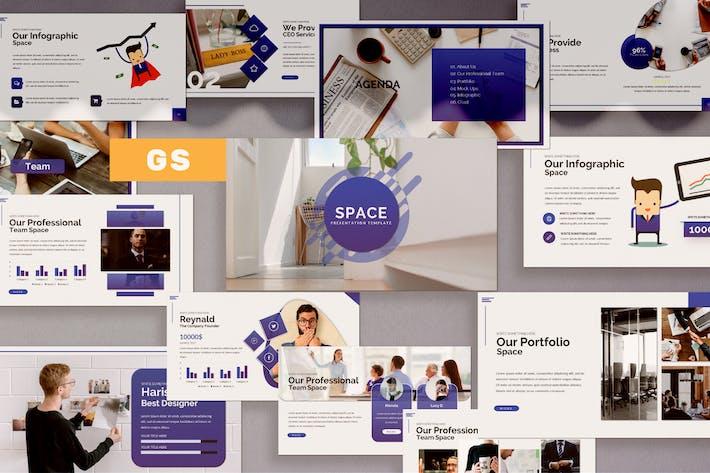 Thumbnail for Space Google Slide