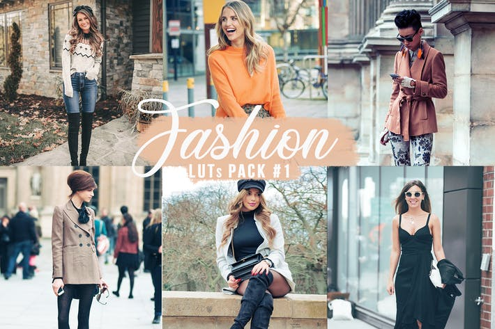 Thumbnail for Fashion LUTs Pack #1 | Video Photo Color Grading