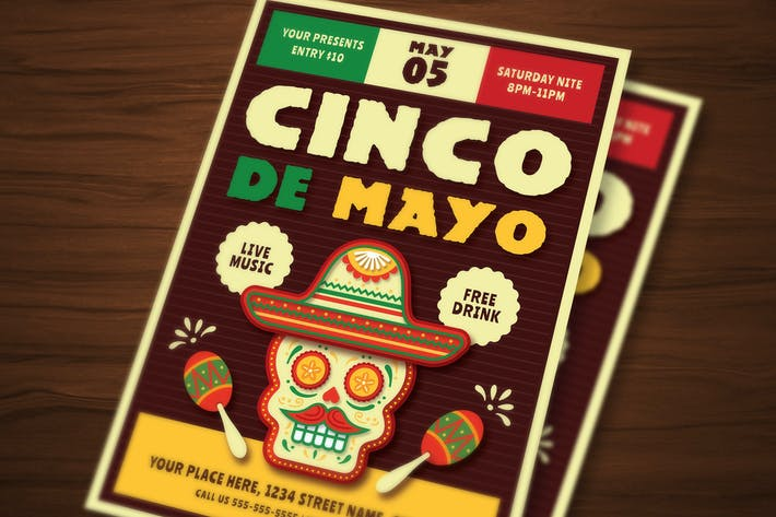 Thumbnail for Cinco De Mayo Flyer 03
