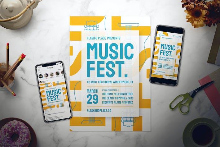 Thumbnail for Music Flyer Set