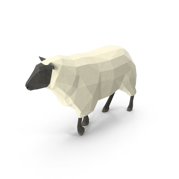 Thumbnail for Low Poly Sheep